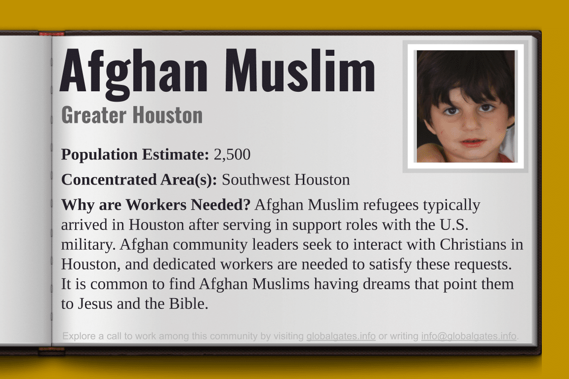 Global Gates Afghan Muslim Of Houston Profile