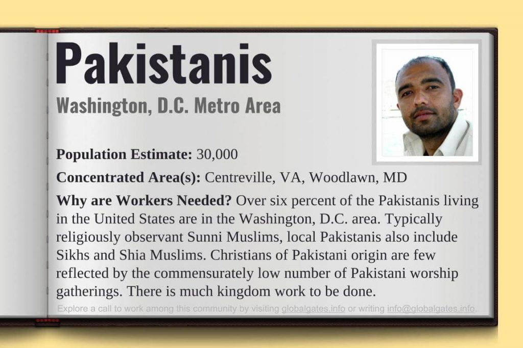 Global Gates Pakistanis Of Washington D.C Profile