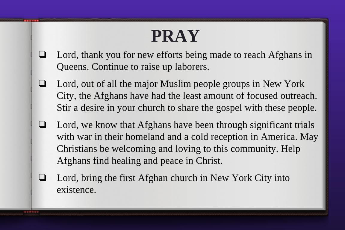 Global Gates Afghan Muslim Of Metro New York Prayer