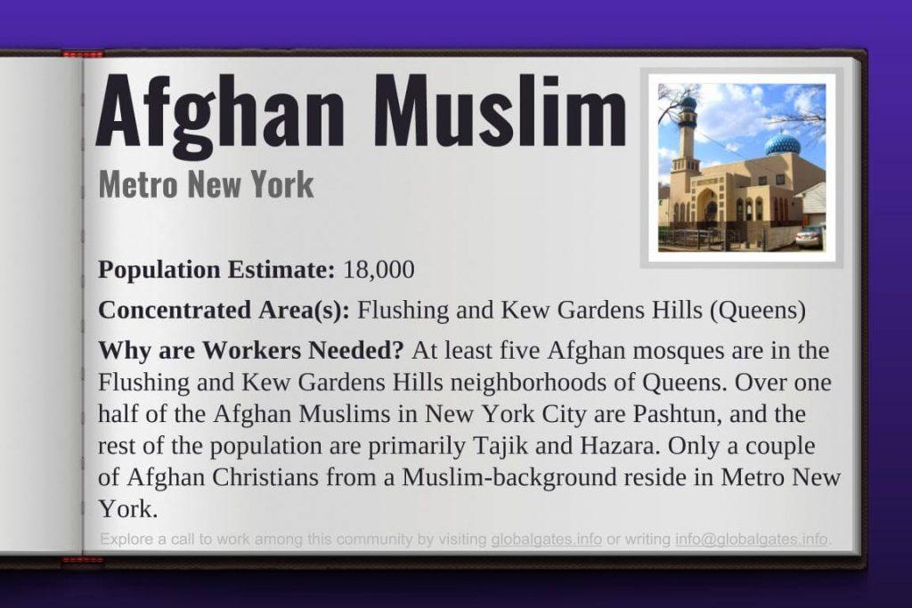 Global Gates Afghan Muslim Of Metro New York Profile
