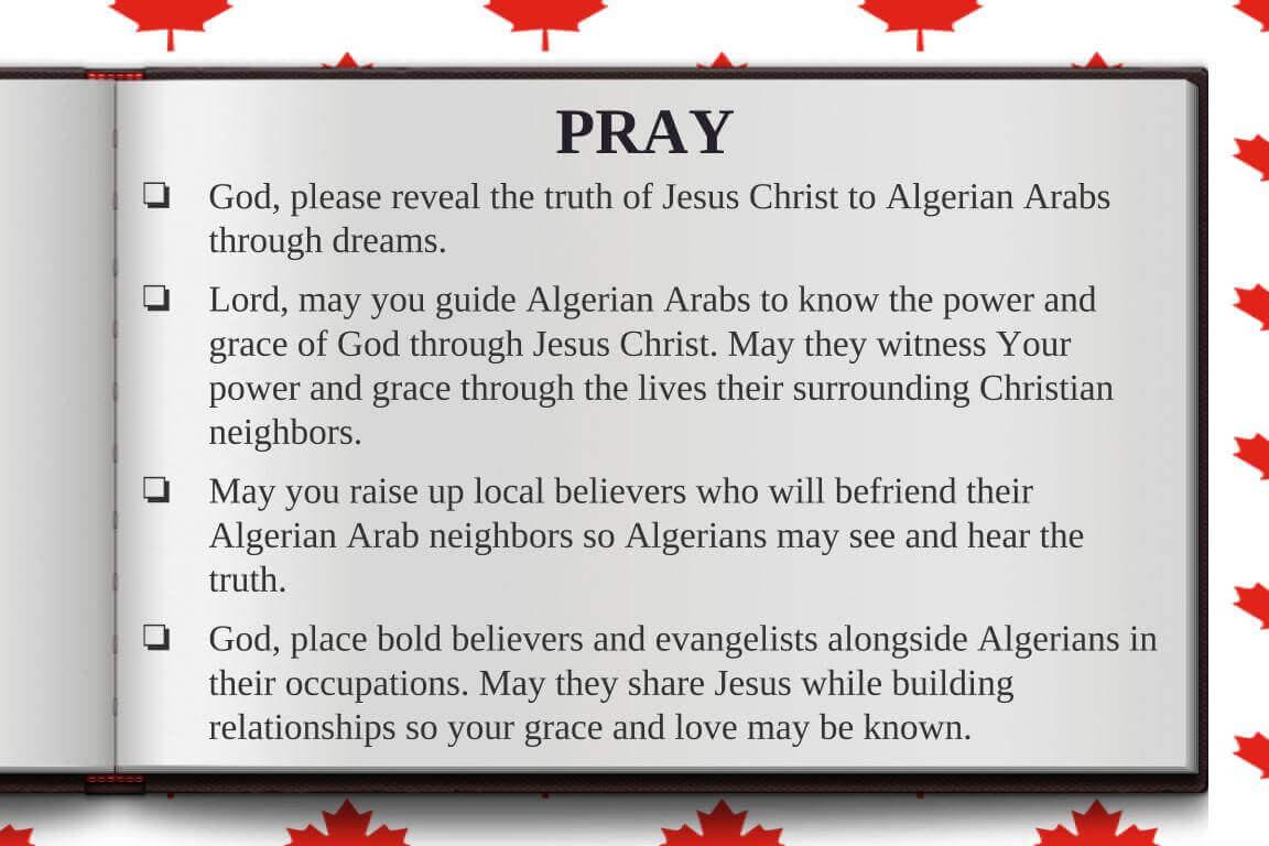 Global Gates Algerian Arab Of Montreal Prayer