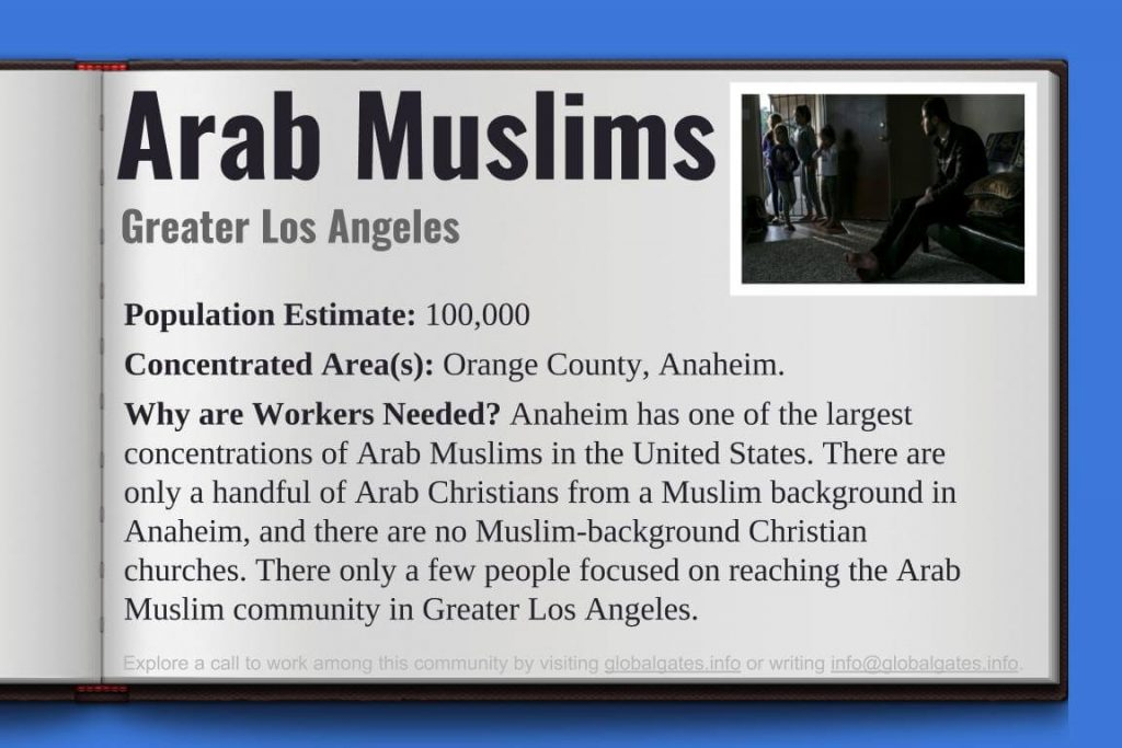 Global Gates Arab Muslims Los Angeles Profile