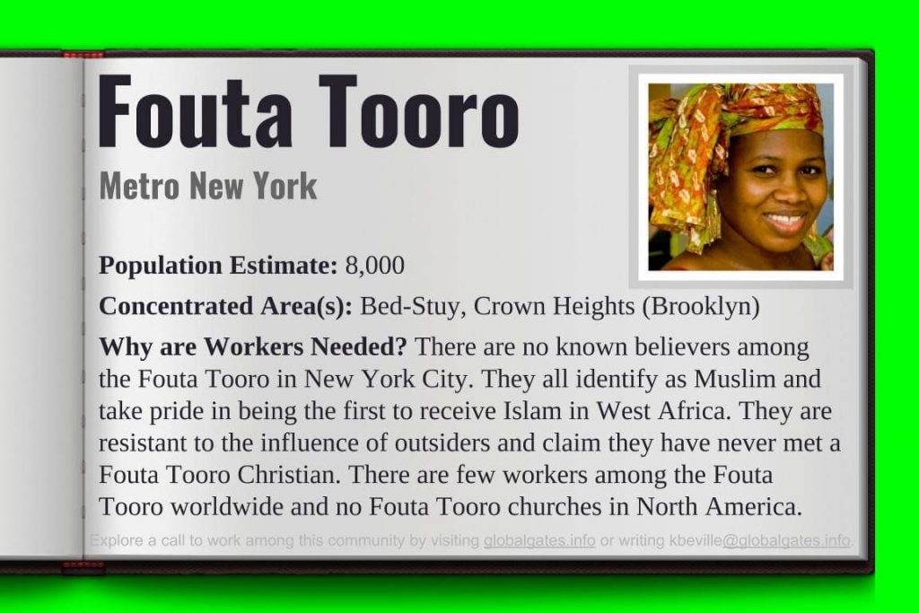 Global Gates Fouta Tooro Of Metro New York Profile