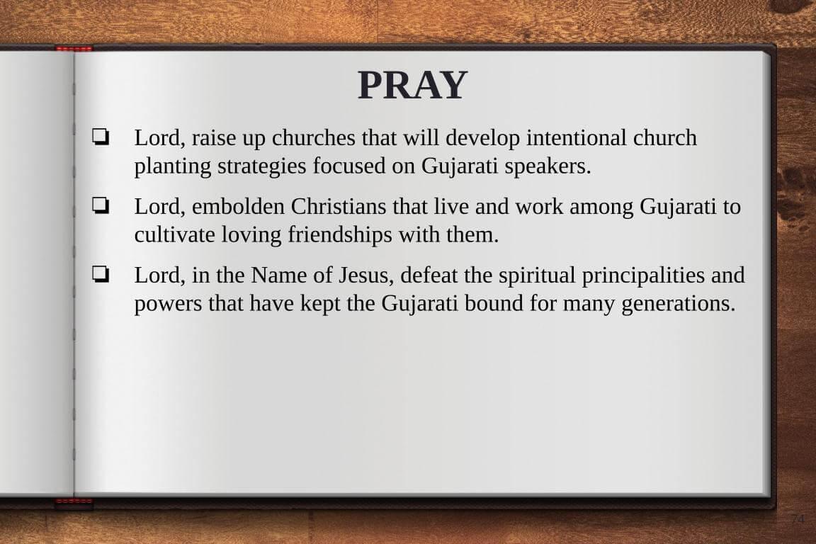 Global Gates Gujarati of Austin Prayer
