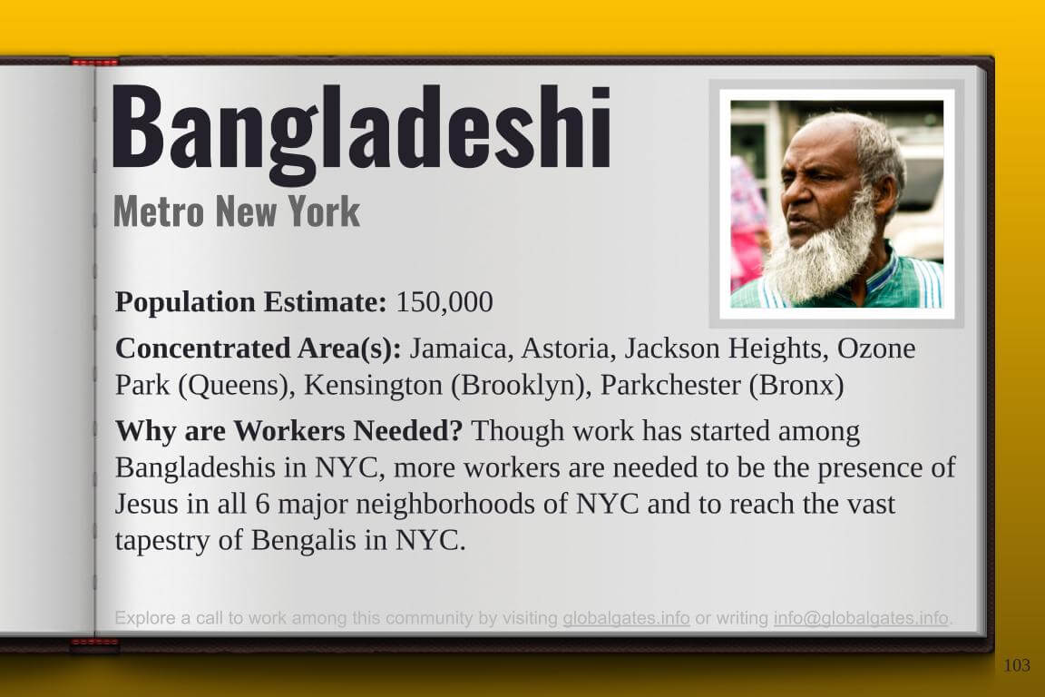 Global Gates Bangladeshi Of New York Profile
