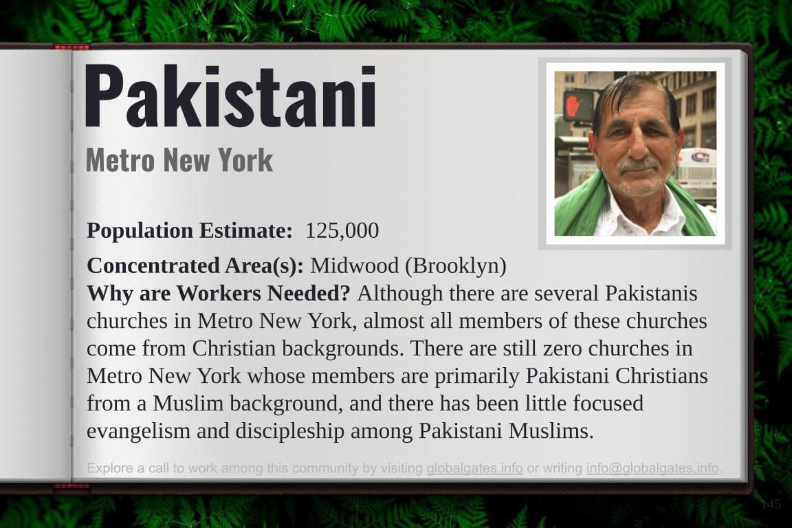 Global Gates Pakistanis Of New York Profile