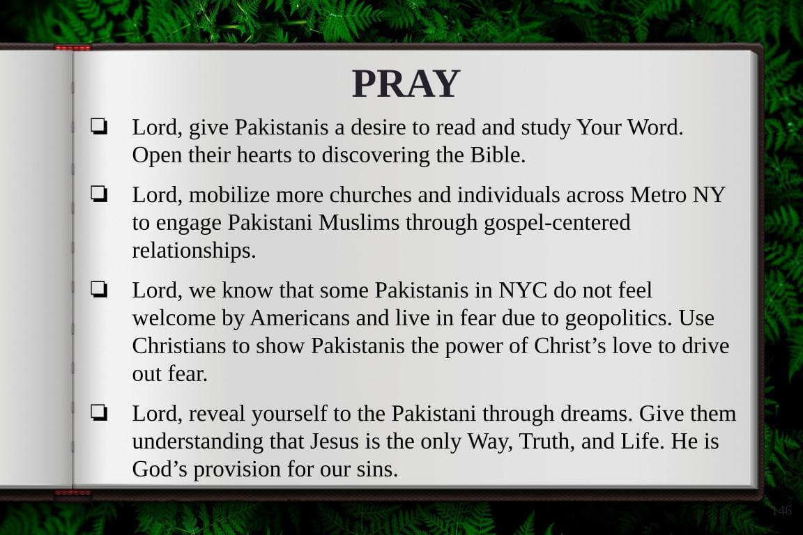 Global Gates Pakistanis Of New York Prayer
