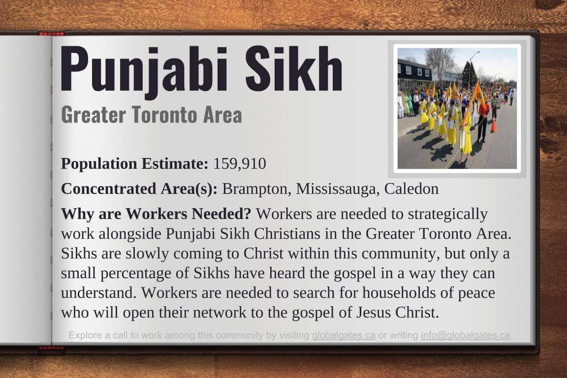 Global Gates Punjabi Sikh of Greater Toronto Area Profile