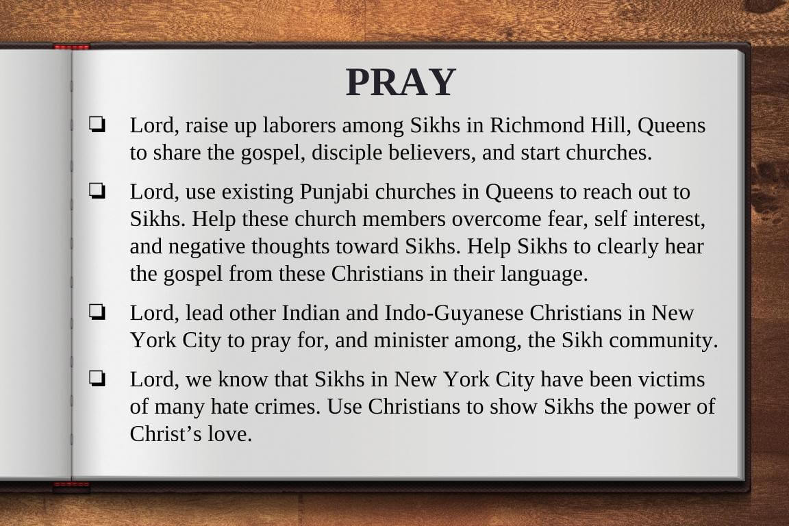 Global Gates Punjabi Sikh Of Metro New York Prayer