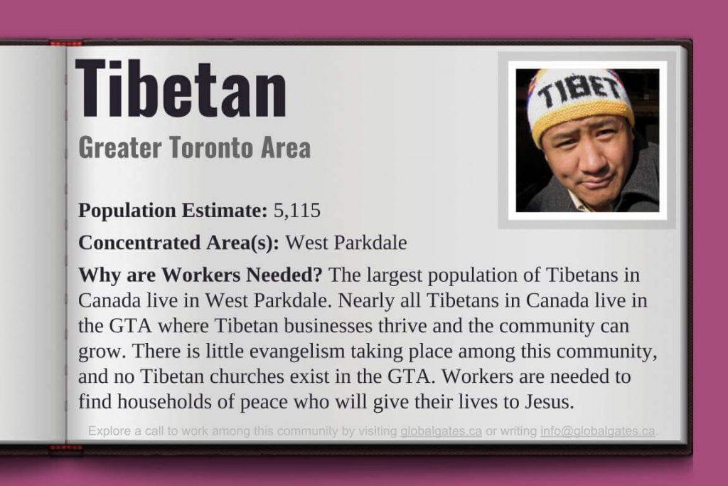 Global Gates Tibetan Of Greater Toronto Area Profile