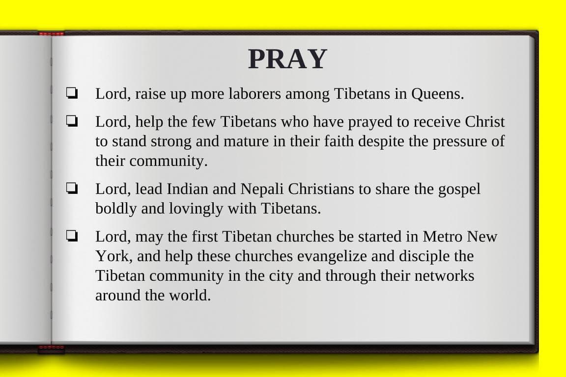 Global Gates Tibetan Of Metro New York Prayer